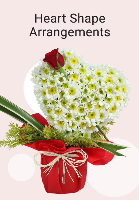 Heart Shaped Arrangements