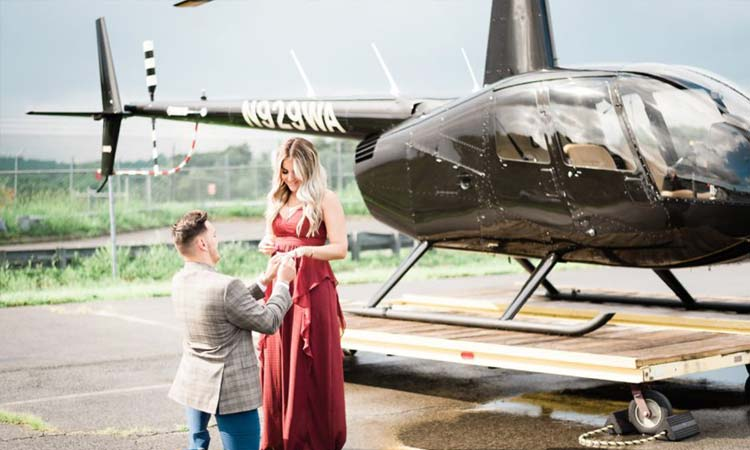 Propose in the Sky
