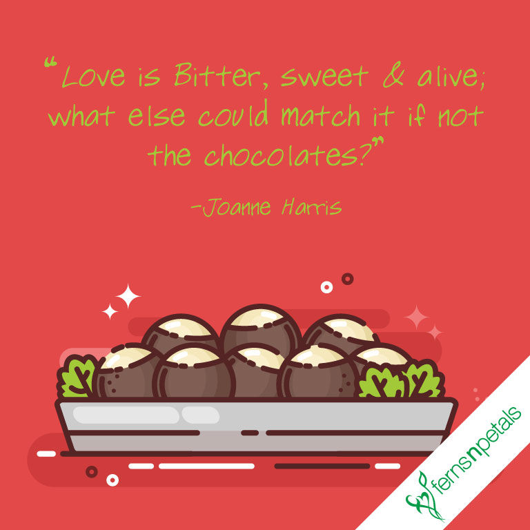 chocolate day quotes love
