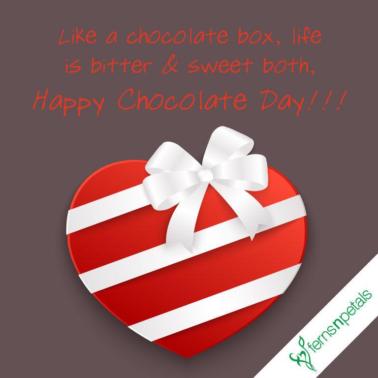 chocolate day wishes status