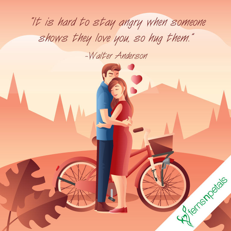 hug day best quotes