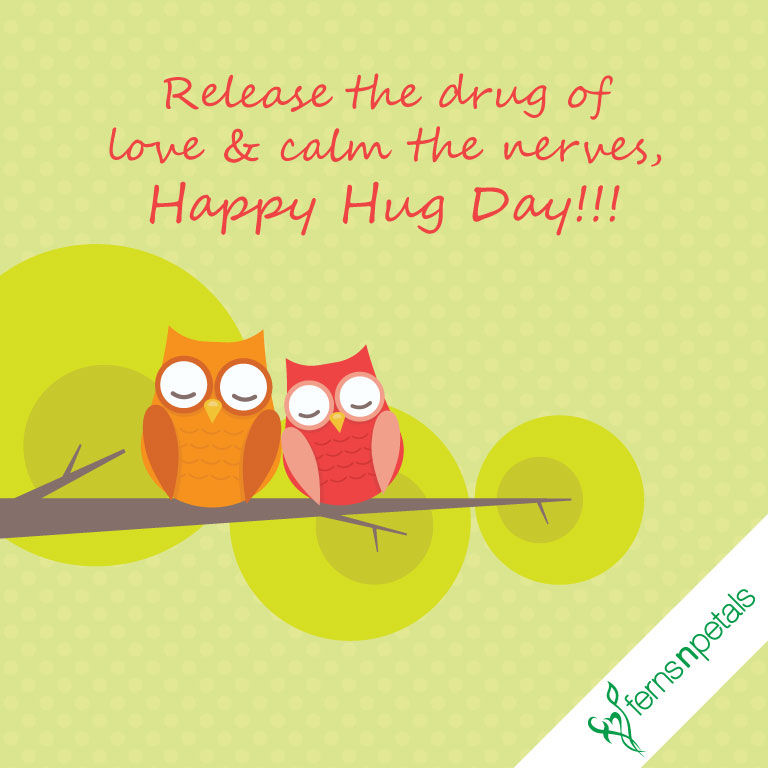 hug day wishes for lover
