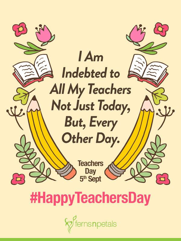 cute teachers day wishes