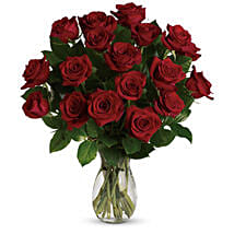 18 Red Roses Bouquet: Just Because Flower in Australia