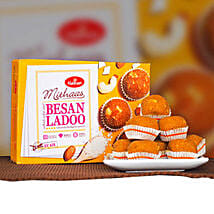 Delicious Besan Ladoo 400g: Send Birthday Gifts to Canberra