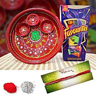 Mix Cadbury Tikka Thali
