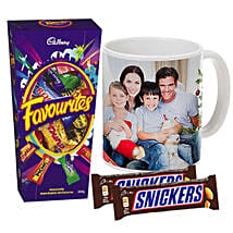 Personalised Mug With Chocolates Combo: Father's Day Presents to Australia