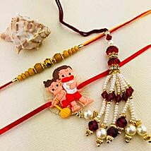 Rakhi Set For Family: Rakhi for Bhaiya Bhabhi Australia