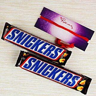 Snickers For Bhai Dooj: Bhai Dooj Gift Delivery in Australia