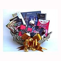 Holiday coffee and Sweets Gift Basket: Gift Delivery in Belgium