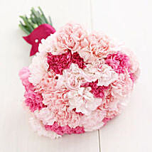 20 Pink Caarnations: Valentines Flower Bouquets to Canada