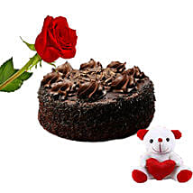 Chocolate Cake Combo: Send Valentine Gifts to Canada