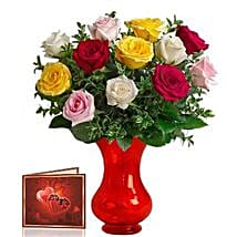 Mix Roses Bunch: Gifts for Mother in Canada