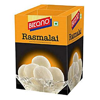 Soft Rasmalai 1 Kg: Sweets for Bhai Dooj