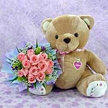 Bear n Flower CIN: Valentine Gifts to China