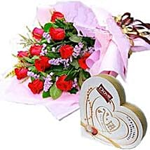 Roses n Chocolates CIN: Valentine Gifts to China