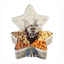 Christmas Star with Nuts: Send New Year Gifts to Germany