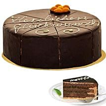 Dessert Sacher Cake: Thank You Gifts to Germany