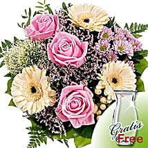Flower Bouquet Ballade with vase: Sorry Flowers to Germany