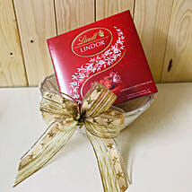 Lindt Lindor Chocolates Basket