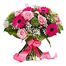 Sweet Pink: Send Flowers to Germany
