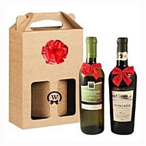 Classic Dual Italian Wines: Corporate Gifts to Hungary