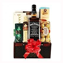 Jack Daniels Gift Basket: Corporate Hampers to Italy