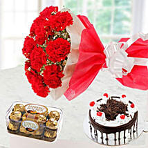 Sweet Romantic Gift Combo: Valentine's Day Gifts to Kuwait
