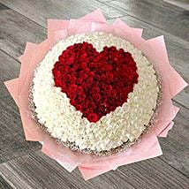 1000 Roses Bouquet: Gifts to India