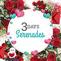 3 Days Valentine Love Everyday: Send Flowers & Cards