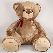 5 Feet Tall Huggable Brown Teddy Bear: Soft Toys Gifts