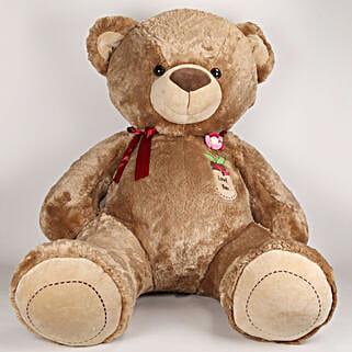 5 Feet Tall Huggable Brown Teddy Bear: Soft Toys Gifts