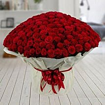 500 Red Roses Premium Bouquet: Send Designer Rakhi