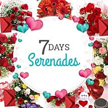 7 DAYS SERENADE: Serenades
