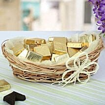 A Basket Of Golden Treat: Homemade Chocolate Gifts