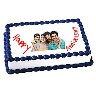 Anniversary Photo Cake: Photo Cakes