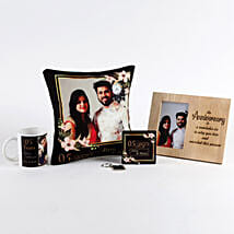 Anniversary Special Personalised Gift Set: