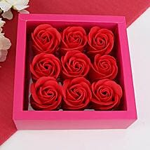 Aromatic Paper Rose Soaps: Cosmetics & Spa Hampers