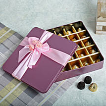 Assorted Chocolates Pink Box:
