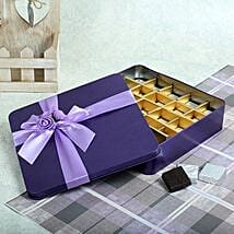 Assorted Chocolates Purple Box: Gifts for Lohri