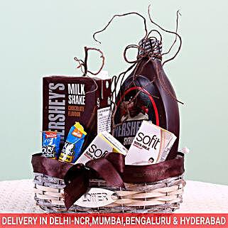Assorted Goodies Hershey's Gift Basket: Anniversary Gift Baskets