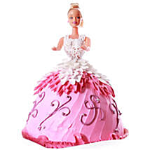Baby Doll Cake: Send Birthday Cakes to Kolkata