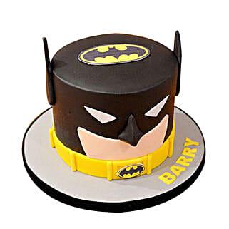 Batman Mask Cake: Cartoon Cakes