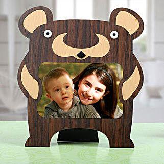 Bear Personalized Photo Frame: Bhai Dooj Personalised Gifts