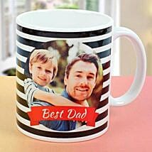 Best Dad Personalised Picture Mug: Fathers Day Personalised Gifts