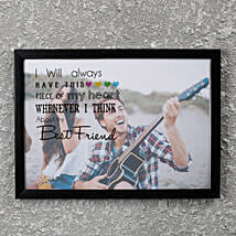 Best Friend PersonalizedFrame: Friendship Day Personalised Photo Frames