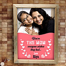 Best Mom Personalized Frame: Personalised Gifts Chittoor