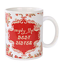 Best Sister Coffee Mug: Bhaubeej Gifts for Sister