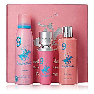 Beverly Hills 1982 Pink Women Gift Set: Buy Perfume