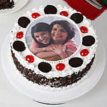 Black Forest Mothers Day Photo Cake: Send Black Forest Cakes